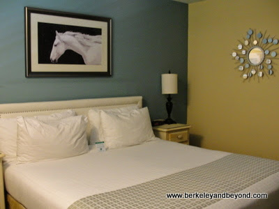 guest room at Wine Valley Inn & Cottages in Solvang, California