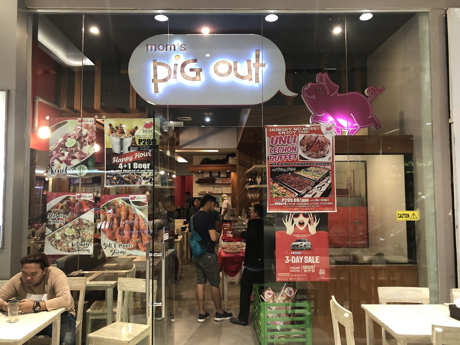 Keep Calm and Pig Out! with Mom's Pig Out's Unli Lechon Buffet