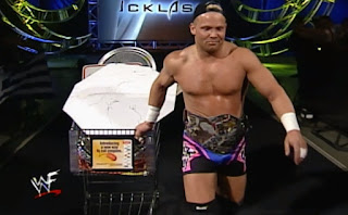 WWF Backlash 2000 - Crash Holly defended the WWF Hardcore title