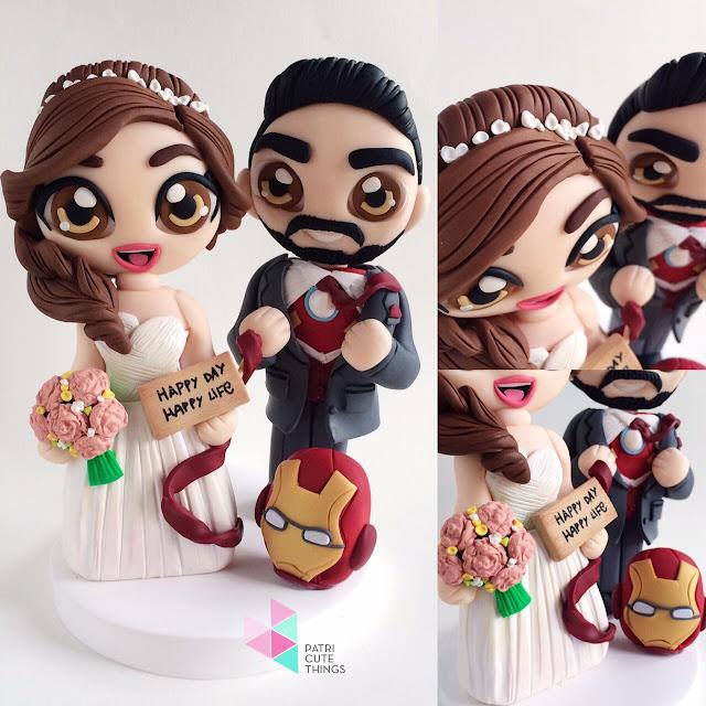 Muñecos tarta personalizados