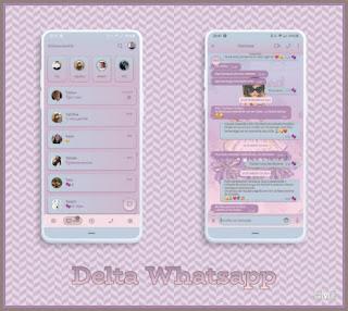 Model Girls Theme For YOWhatsApp & Fouad WhatsApp By Graciela