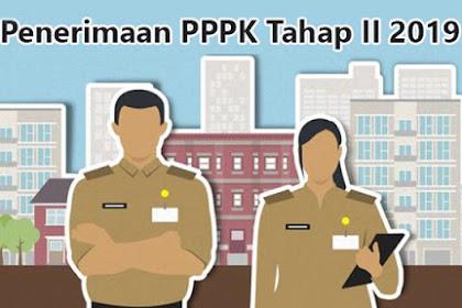 Setelah Juni 2019 Penerimaan PPPK Tahap II Dibuka