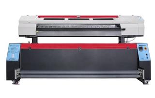 Teknik Print Kain Dengan Sistem Sublimasi Pada Polyester
