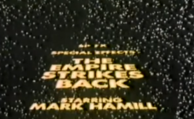 Special Effects - The Empire Strikes Back