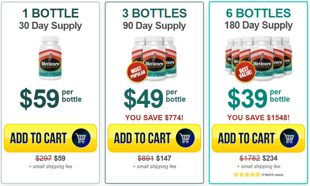meticore weight loss sale
