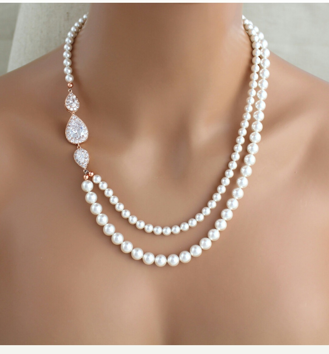 neakdi coleman main akoya leaf pearl diamond douglas necklace centrepiece with large products image