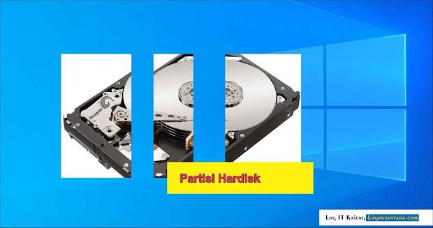 Cara Membagi dan Membuat Partisi Hardisk di Windows 10