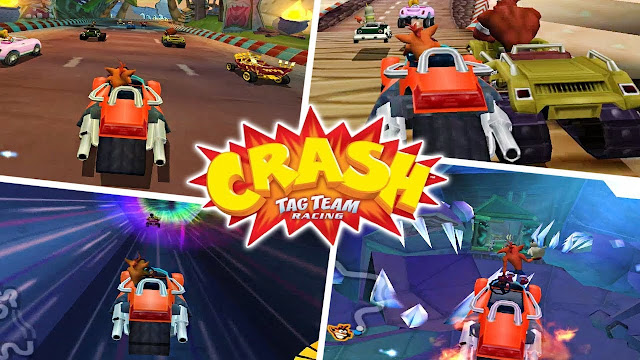 تحميل لعبة Crash Tag Team Racing