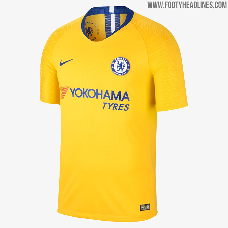 6739e1b97df Nike Chelsea 18-19 Away Kit Released - Footy Headlines