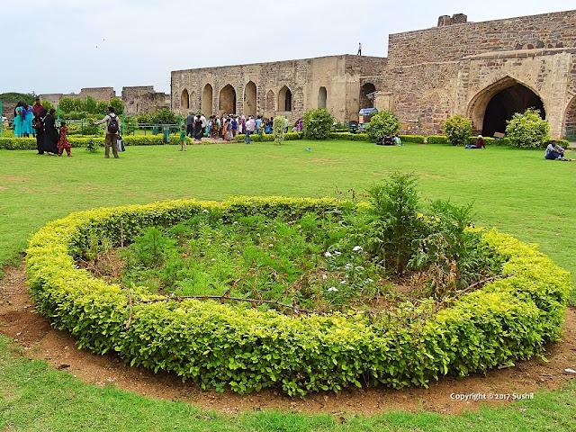 Near Taramati Mosque, Golkonda Fort, Hyderabad