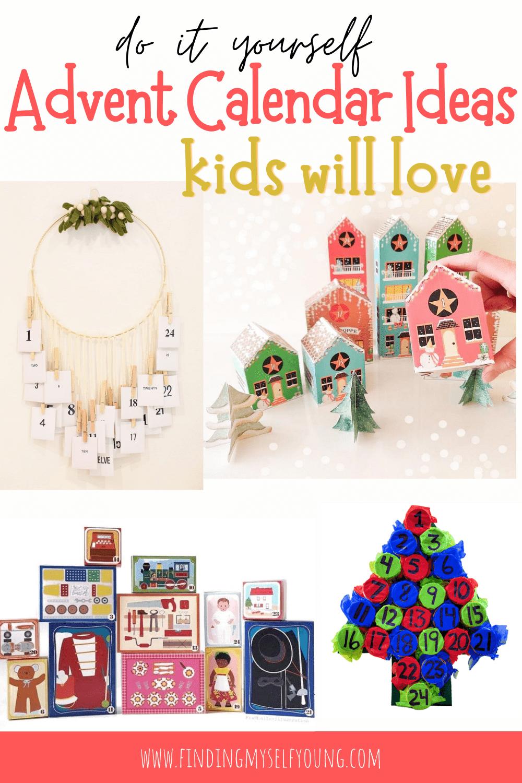 DIY kids advent calendar ideas