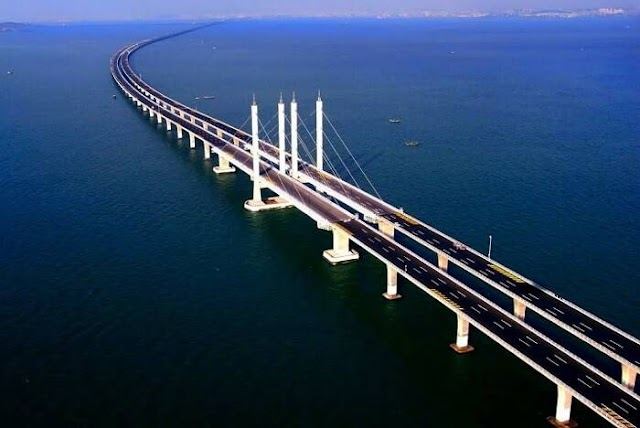 Dünyanın En Uzun Köprüsü: Danyang-Kunshan Grand Köprüsü