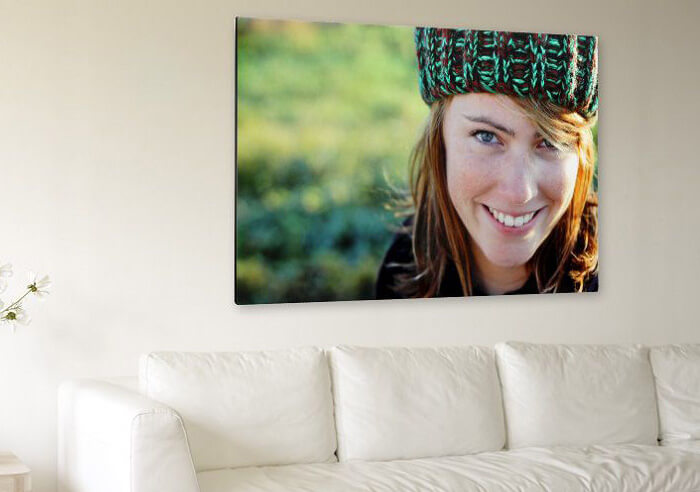 Idea foto su tela per decorare le pareti di casa