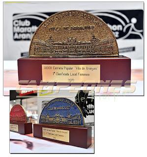 Carrera Popular Aranjuez 2019 Trofeos Premios