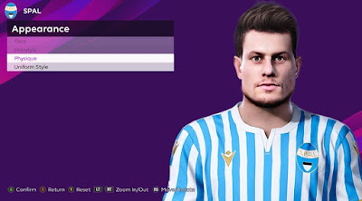 PES 2020 Faces Alberto Cerri by Rachmad ABs