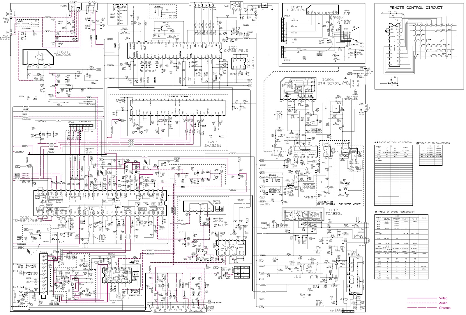 lg tv schematics diagram