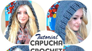Capucha Crochet Super Fácil / Video Tutorial