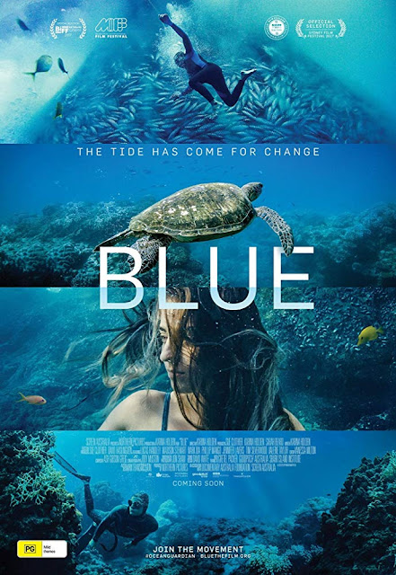 Blue 2018 ocean documentary movie poster