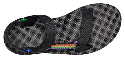 Shoeography Shoe of the Day | Teva Midform Universal Pride Sandals