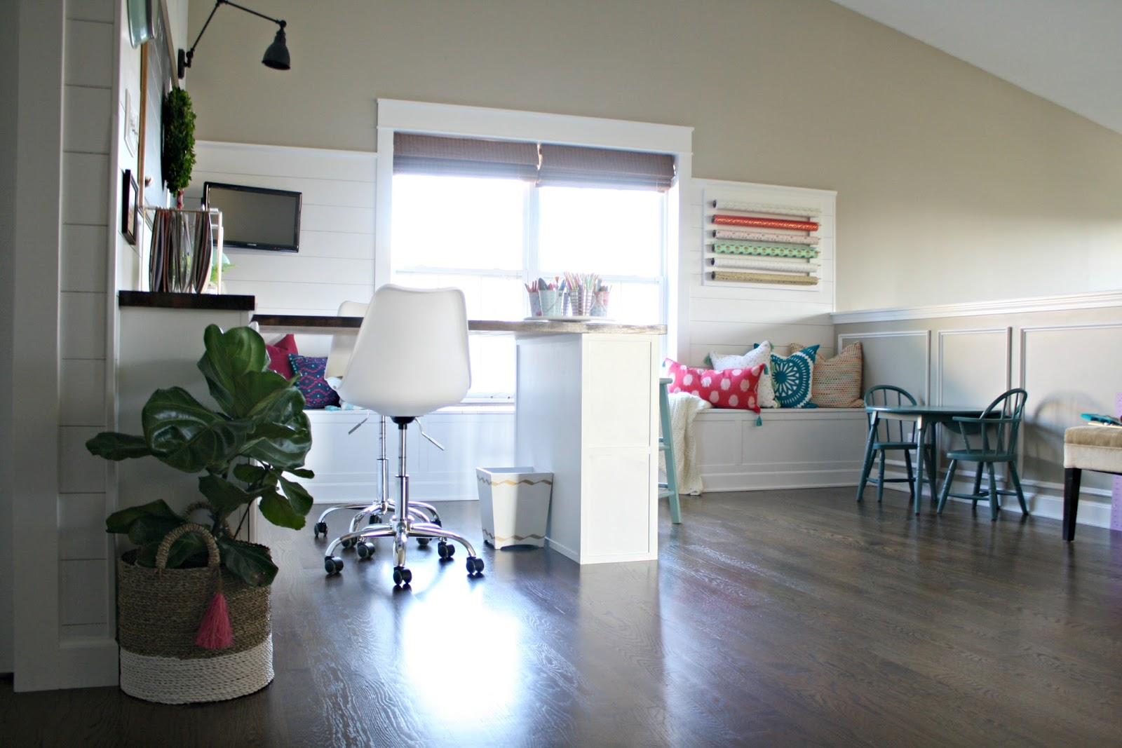 craft room office. Loft Space Turned Into A Craft Room/office Room Office T