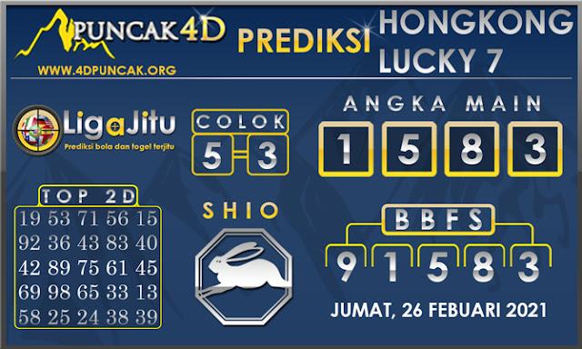 PREDIKSI TOGEL HONGKONG LUCKY 7 PUNCAK4D 28 FEBUARI 2021