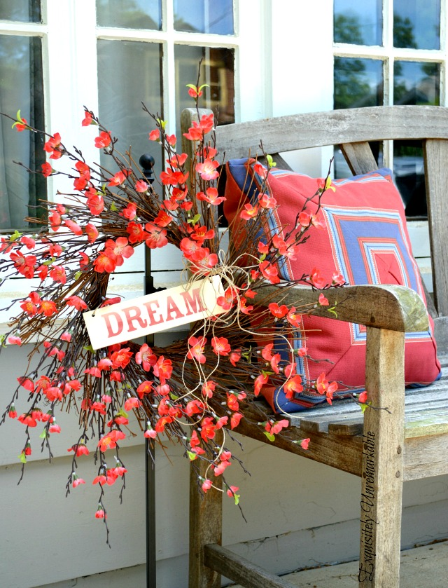 Summer Porch Wreath