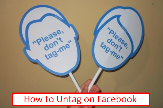How To Untag Someone On Facebook