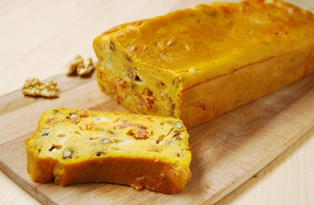 Cake courge chorizo