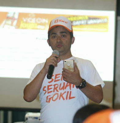 Gagan Gandara, Country Manager Kwai Indonesia. Foto : facebook Gagan Gandara.