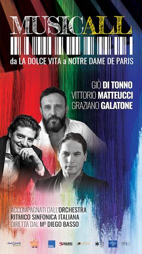 """""""Musicall"""" con Giò di Tonno Vittorio Matteucci Graziano Galatone"""