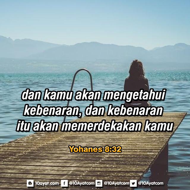 Yohanes 8:32