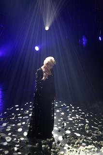 Η Μαρινέλλα στο νυχτερινό κέντρο «Διογένης Studio» της Αθήνας, στις 6 Δεκεμβρίου του 2008.