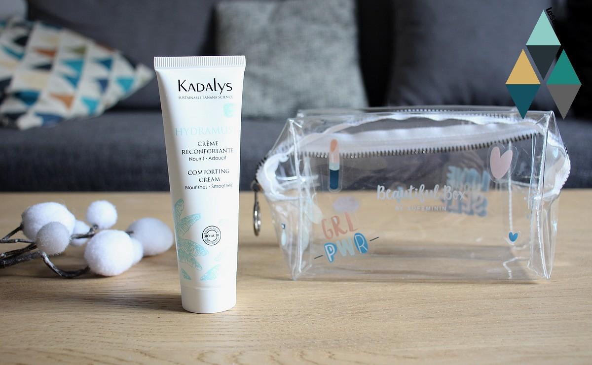 avis crème reconfortante visage hydramuse kadalys revue beauté