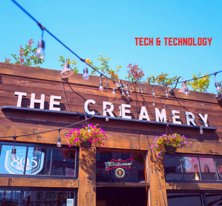 A commemoration for The Creamery