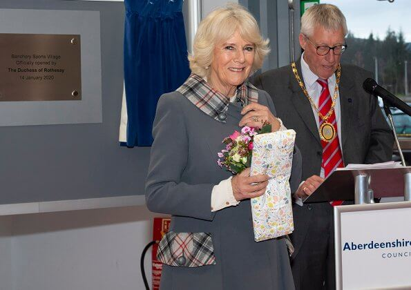 The Duchess of Rothesay formally opened Banchory Sports Village in Aberdeenshire. Aberdeenshire Council supported by community fundraising