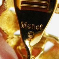 Monet in capital letters