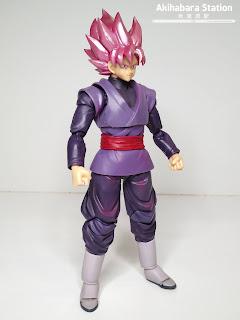 Review del S.H.Figuarts Goku Black Super Saiyan Rose - Tamashii Nations