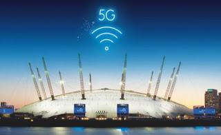 O2 Arena Akan Menjadi Tuan Rumah Demonstrasi 5G Pada Tahun 2018