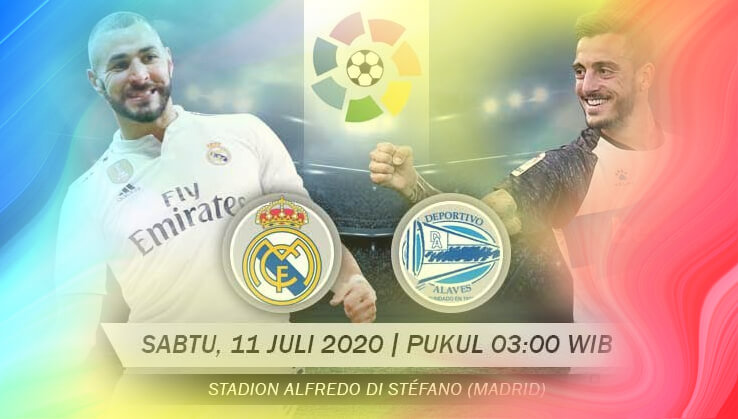 Prediksi Real Madrid vs Alaves 2020