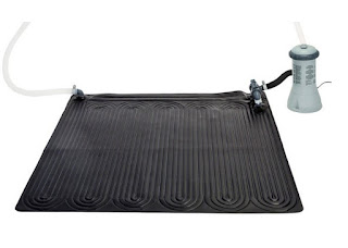 Alfombra calentadora solar de agua: