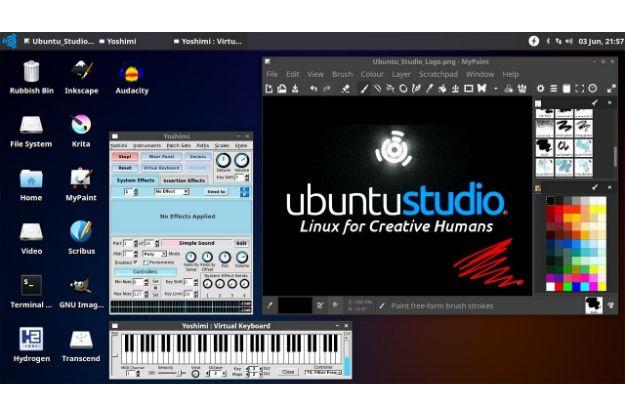 Ubuntu Studio - Μια διανομή κομμένη και ραμμένη για Multimedia Creators