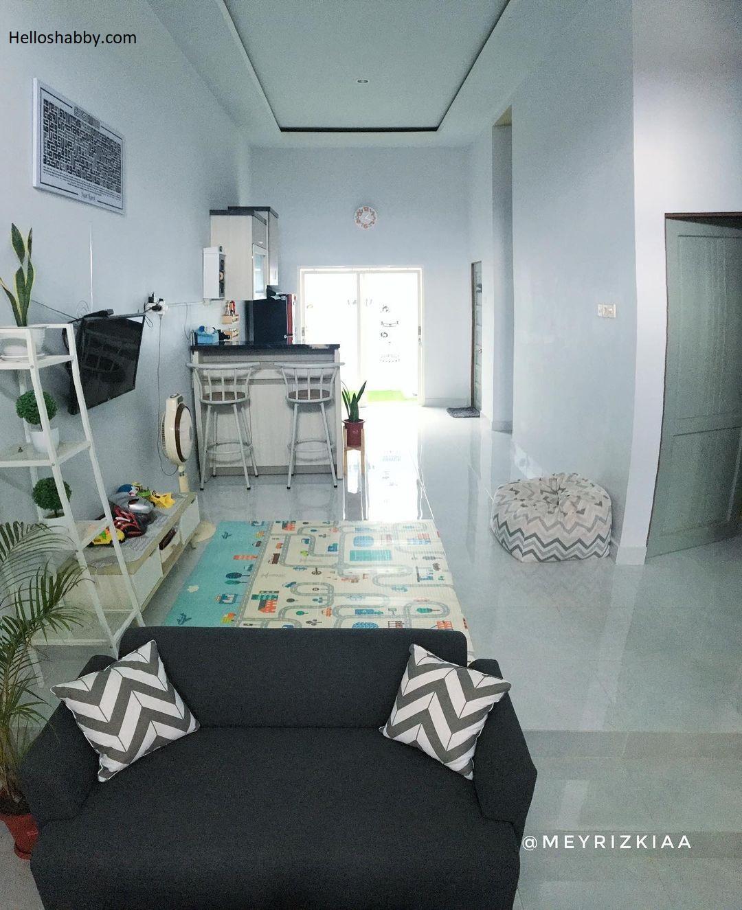 7 Inspirasi Penataan Rumah Mungil Tanpa Sekat Tetap Nyaman Meski Terbatasnya Luas Bangunan Helloshabby Com Interior And Exterior Solutions