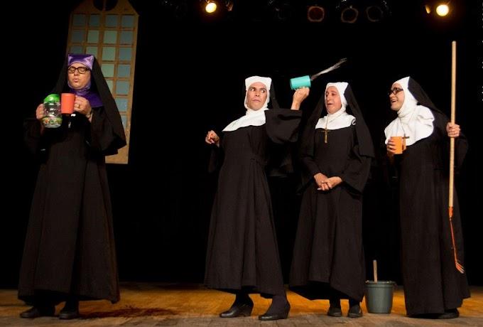 Comédia 'Deu a louca no convento' chega ao fim de sua temporada na cidade de Caruaru com encenações no Sesc