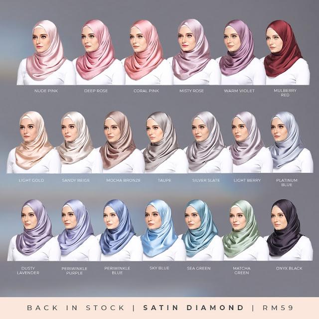 Koleksi Satin Diamond