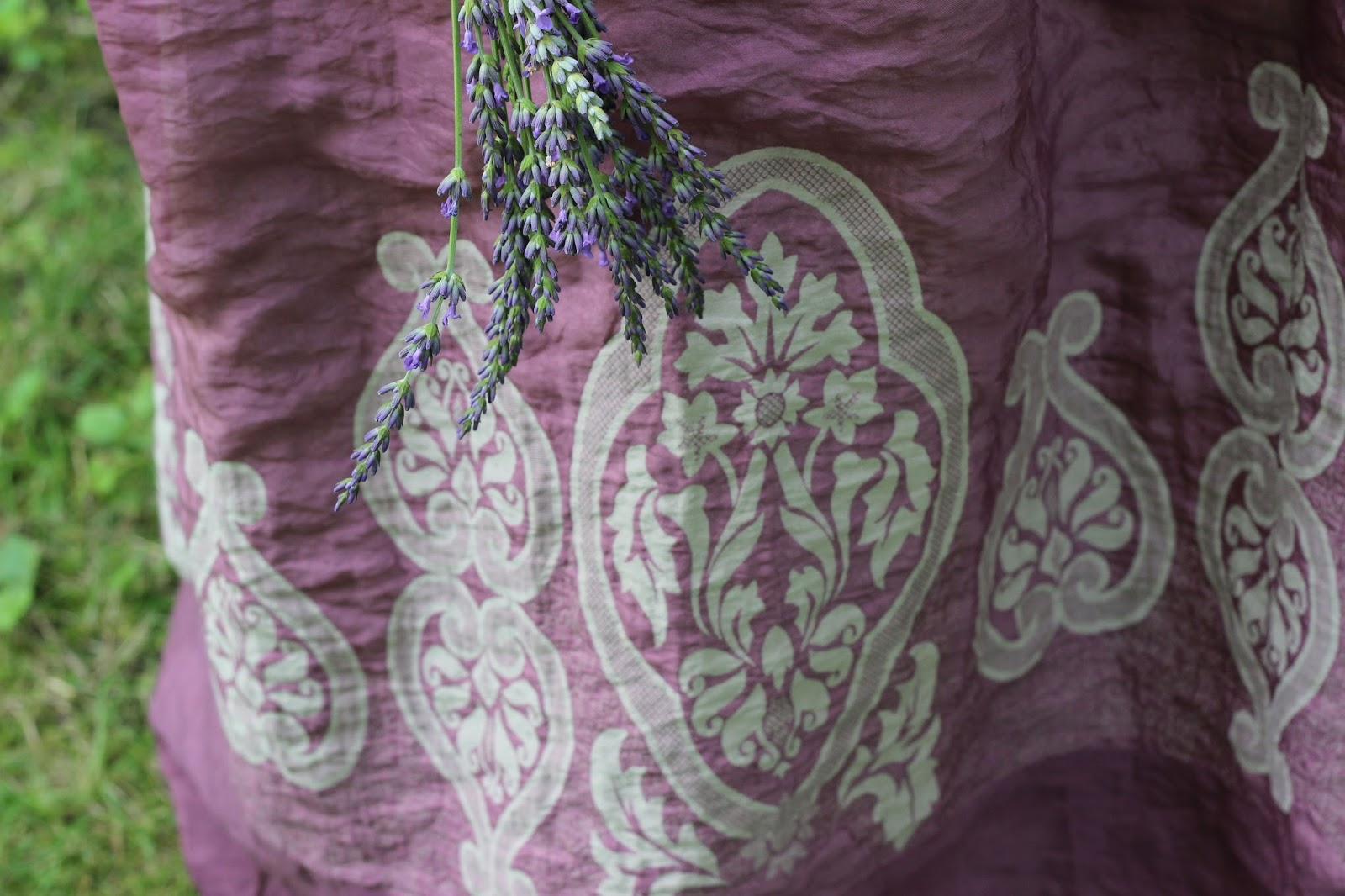 Lavender Maxi at the Lavender Farm – Dina's Days