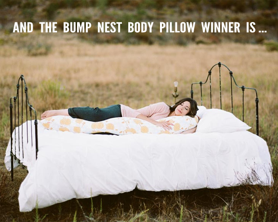 Did You Win the Bump Nest Giveaway? // Bubby and Bean
