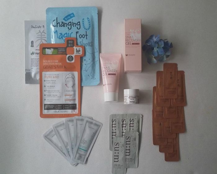 Sorteo Pack de iniciación a la cosmética coreana