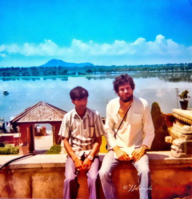 JJ Semple in Shrinagar, Lashmir, 1977