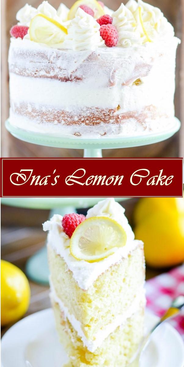 Ina's Lemon Cake #cakerecipes