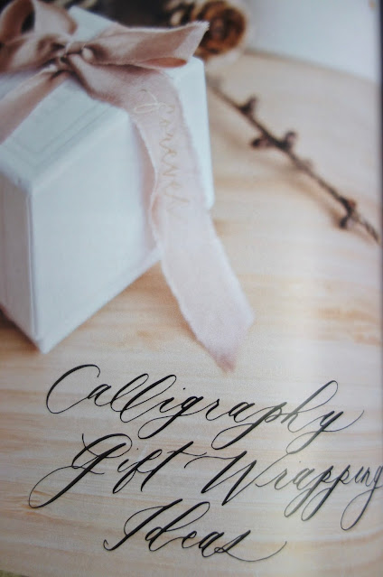 calligraphy, hand lettering, blah to TADA, calligraphy book, Karla Lim, crafts using calligraphy, modern calligraphy, calligraphy projects, gift wrapping ideas
